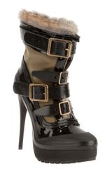 Burberry Spike Heel Boot - Lyst