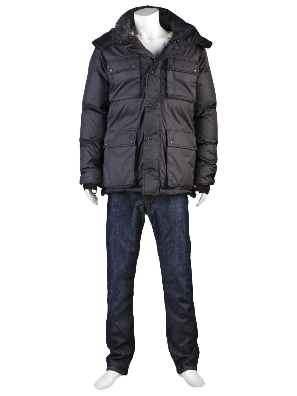 Canada Goose Manitoba Jacket in Gray for Men - Lyst f2e6df61dbf5