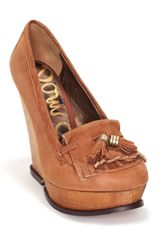 Sam Edelman Sam Edelman Wesley Oxford Wedges - Lyst