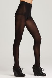 DKNY Tights Basic Opaque Coverage Control Top 412 - Lyst