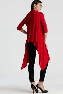 DKNY Silk/cashmere Long-sleeve Cozy - Lyst