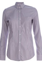 Golden Goose Deluxe Brand Striped Shirt - Lyst