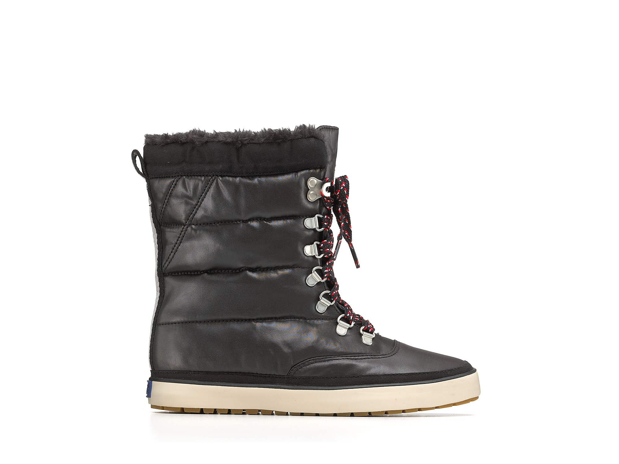 Keds Cream Puff Cold Weather Boots In Olive Black Lyst