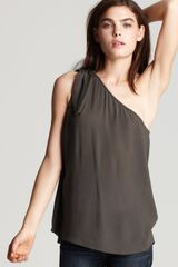 Marc By Marc Jacobs Nomi Crepe Top - Lyst