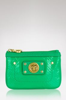 Marc By Marc Jacobs Python Shine Key Pouch - Lyst