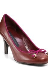 Marc By Marc Jacobs Bow Pumps - Lyst
