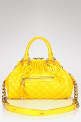Marc Jacobs Mini Quilted Stam Satchel - Lyst
