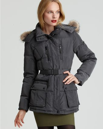 Marc New York Belted Puffer Coat - Lyst