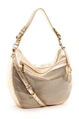 Michael by Michael Kors Mesh Convertible Shoulder Bag - Lyst