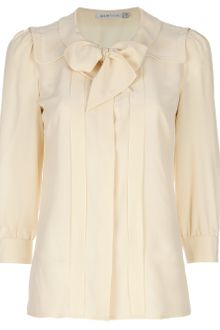 See By Chloé Silk Bow Detail Blouse - Lyst