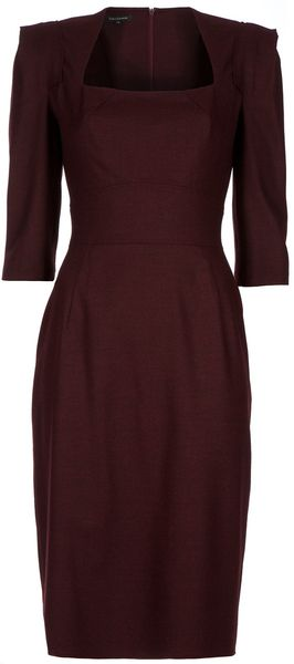Tara Jarmon Empire Line Dress - Lyst
