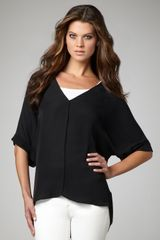 Vince Silk V-neck Tunic - Lyst