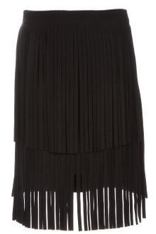 Vionnet Fringed Skirt - Lyst
