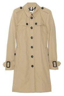 Burberry Frindsbury Cotton-gabardine Trench Coat - Lyst