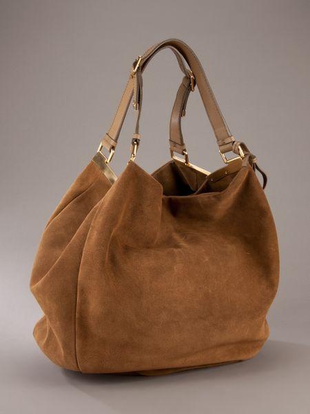 Giuseppe Zanotti Suede Shoulder Bag 46