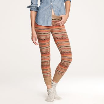 J.Crew Fair Isle Sweater-leggings - Lyst