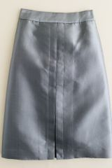 J.Crew Silk Kick Pleat Skirt - Lyst