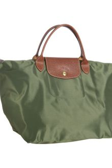 Longchamp Loden Nylon Le Pliage Medium Folding Tote - Lyst