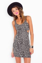 Nasty Gal Kenya Cutout Dress - Lyst