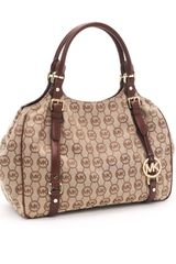 Michael by Michael Kors Large Bedford Monogram Tote - Lyst