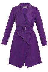 Max Mara Snack Lightweight Coat in Purple - Lyst