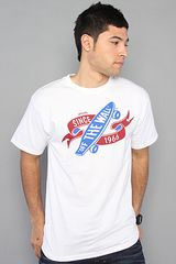 Vans The Insignia Tee in White - Lyst