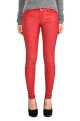 Current/Elliott Leather Pant  - Lyst
