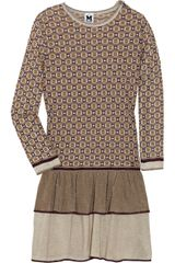 M Missoni Metallic Crochet-Knit Dress - Lyst