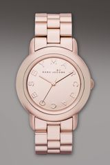 Marc By Marc Jacobs Marcy Rose Golden Watch - Lyst