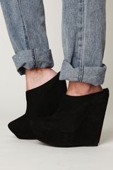 Free People Julianne Mule in Black - Lyst