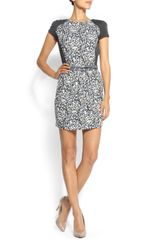 Mango Animal Print Dress - Lyst