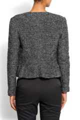 Mango Asymmetric Jacket in Black (02) - Lyst