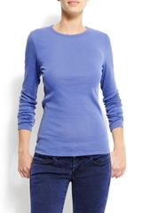 Mango Basic Long Sleeve T-shirt - Lyst