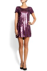 Mango Sequin Dress - Lyst