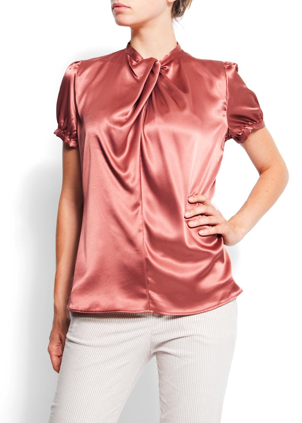 Zara Shiny Print Blouse 79