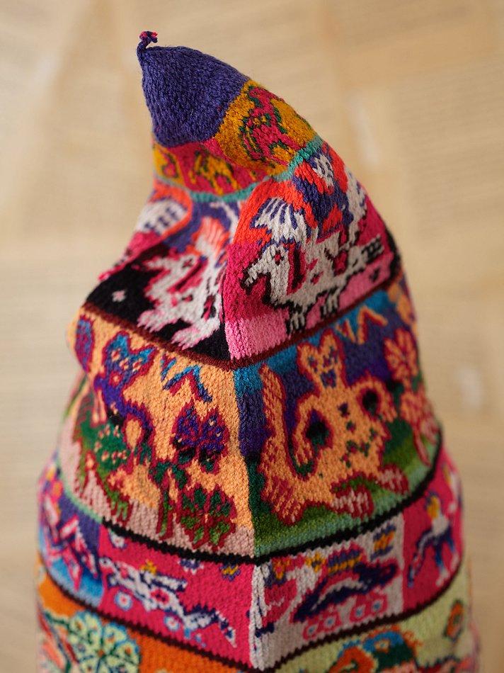 Lyst Free People Vintage Bolivian Knit Hat