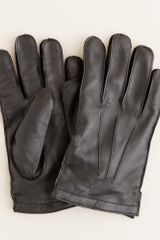 J.Crew Cashmere-lined Leather Gloves - Lyst