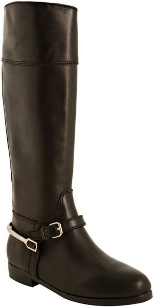 Pour La Victoire  Leather Marne Tall Boots in Black - Lyst