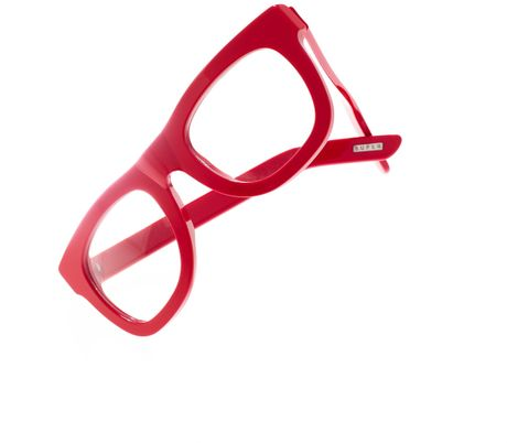 Madewell Super™ Eyeglasses Ciccio in Red (diner red)