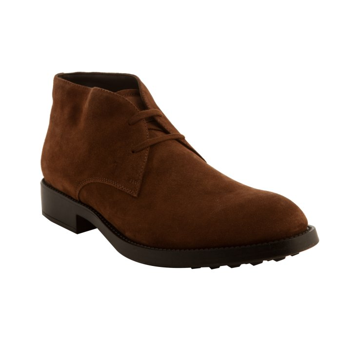 tod s light brown suede esquire giovane chukka boots in