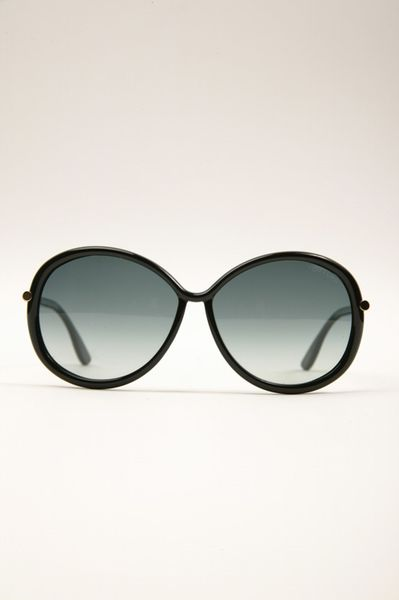 Tom Ford Clothide Sunglasses  01b in Black - Lyst