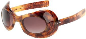 Blaak Goggle Shaped Sunglasses - Lyst