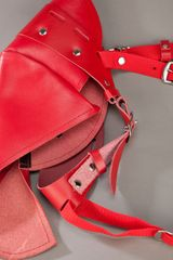 Comme Des Garçons Leather Belt in Red - Lyst