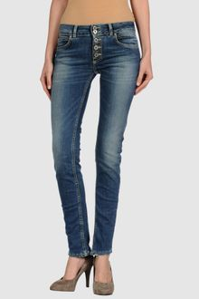 Dondup Denim Trousers - Lyst