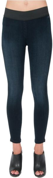 Donna Ida Goldsign Jem Leggings  Position in Blue (denim) - Lyst