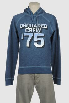 DSquared2 Hooded Sweatshirt - Lyst