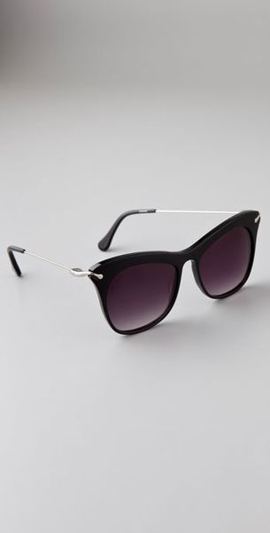 Elizabeth And James Fairfax Sunglasses in Black - Lyst