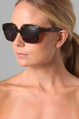 Elizabeth And James Zelzah Sunglasses in Animal - Lyst