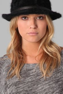 Juicy Couture Mohair Fedora - Lyst