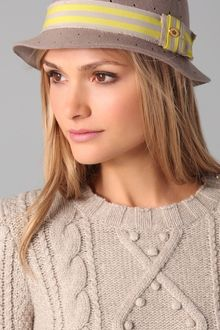Juicy Couture Perforated Fedora - Lyst